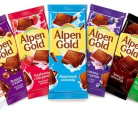 Chocolates Alpen Gold en México