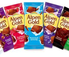 Chocolates Alpen Gold en México