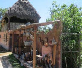 Chozas Africanas en Africam Safari Puebla