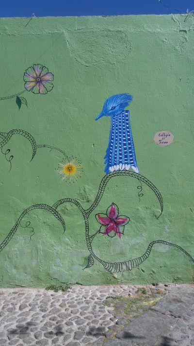 Ciudad Mural Colectivo Tomate Barrio de Xanenetla