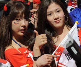 Coreanas Fútbol Hinchas