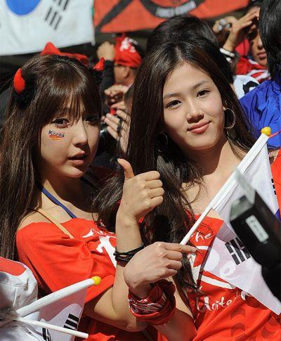 Edecanes Fútbol Coreanas