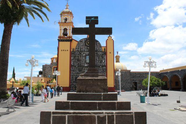 Cruz Parroquia de San Nicolás de Bari San Nicolás de los Ranchos Puebla