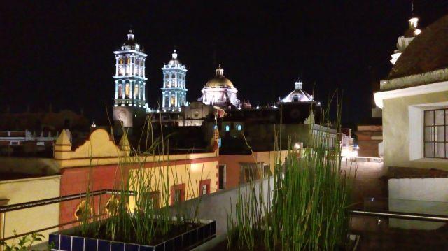 ¿Cuántas Iglesias hay en la ciudad de Puebla?