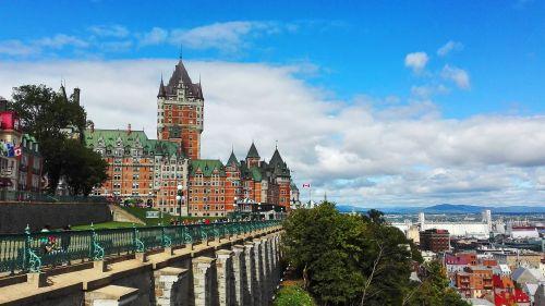 Dar un paseo por el Viejo Quebec