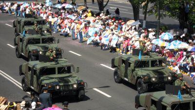 Desfile del 5 de mayo Puebla 2013