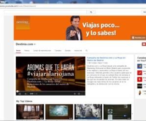 Destinia en YouTube