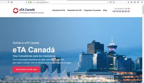 ¿Dónde puedo tramitar la eTA Canadá?