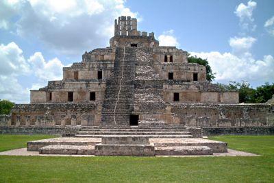 Zona Arqueológica de Edzná Campeche
