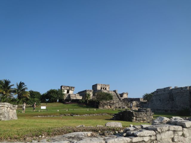 El Castillo Ruinas de Tulum México