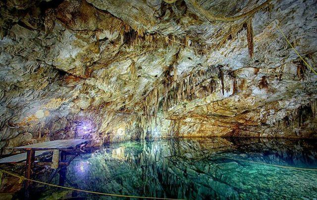 El Cenote Canunchen Homún Yucatán