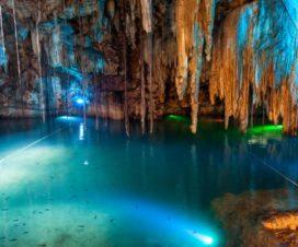 El Cenote Dzitnup o Xkekén Valladolid Yucatán