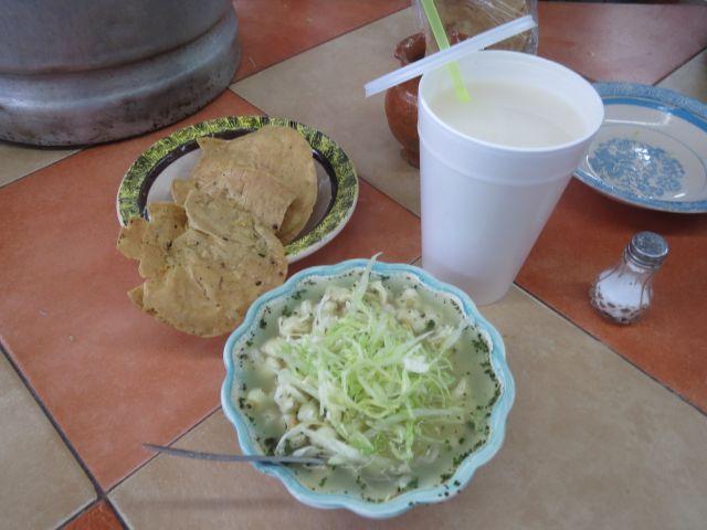 El Delicioso Pozole del Mercado de Atlixco Puebla