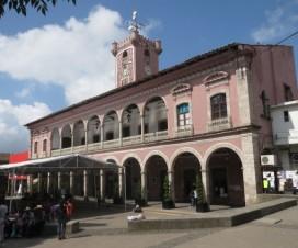El Palacio Municipal de Huauchinango Puebla