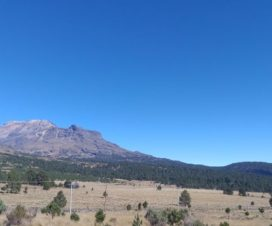 El Volcán Iztaccíhuatl Parque Nacional Izta Popo