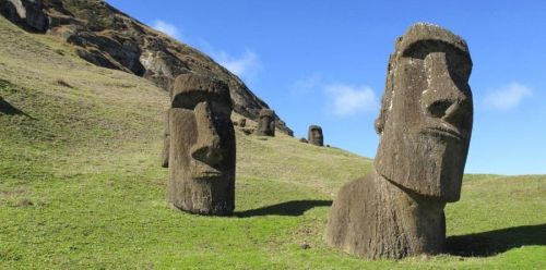 Esculturas de la Isla de Pascua