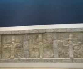 Estela en el Museo Maya de Cancún