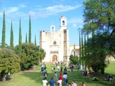 Ex convento de Huaquechula Puebla
