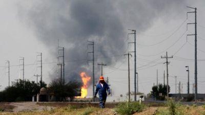 Explosión en Pemex Reynosa 2012