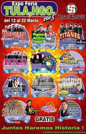 Expo Feria Tula Hidalgo 2015