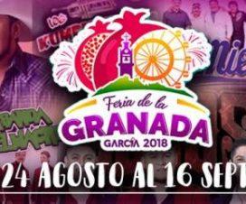 Feria de la Granada García Nuevo León 2018