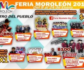 Feria de Moroleón Guanajuato 2016
