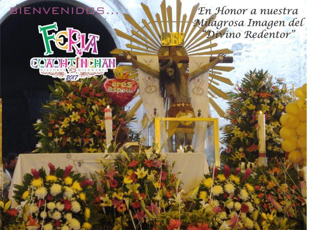 Feria Divino Redentor Cuautinchán Puebla 2017