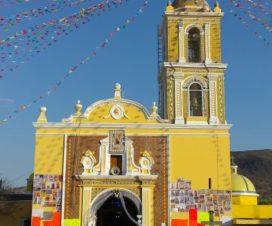 Feria Patronal de Santa María Malacatepec Puebla