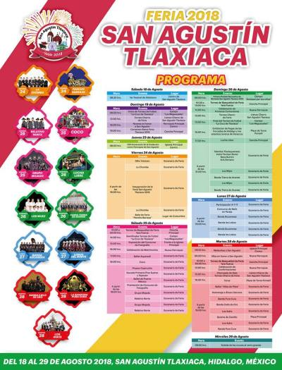 Feria San Agustín Tlaxiaca 2018