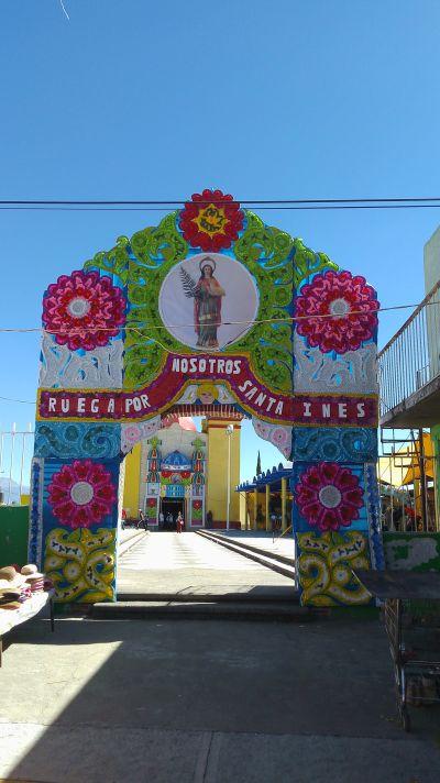 Fiesta Patronal en Honor a Santa Inés Tecuexcomac
