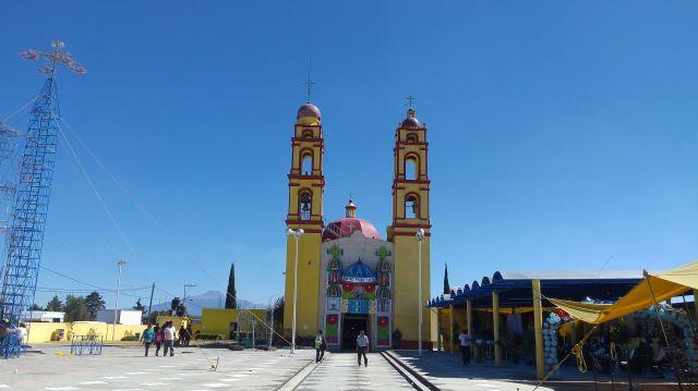 Fiesta Patronal Iglesia de Santa Inés Tecuexcomac
