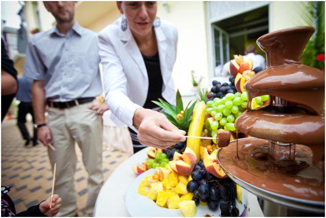 Fuentes de chocolate: La nueva tendencia en eventos sociales