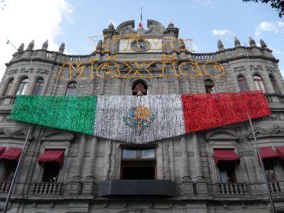 Grito de Independencia Zócalo de Puebla 2012