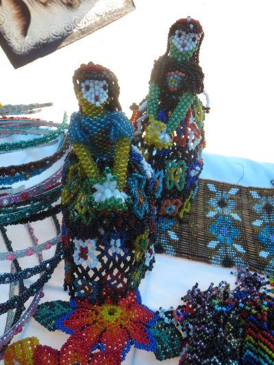 Hermosas Artesanías en Chaquira Pahuatlán Puebla