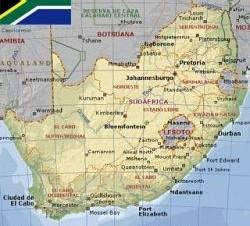 Horario de Sudáfrica