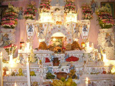 Huaquechula Puebla Altares