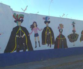 Huehues en el Barrio de Xanenetla