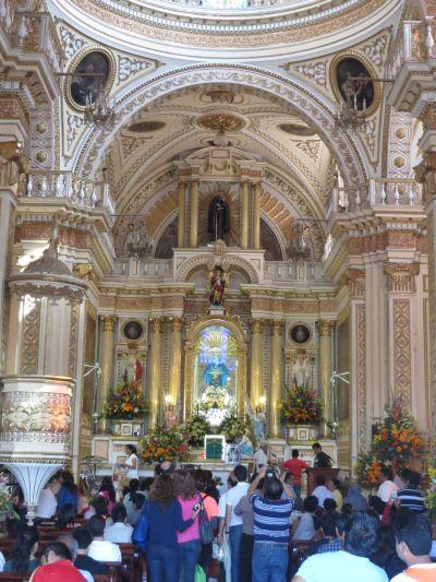 Iglesias de Cholula Puebla