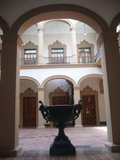 Interior del Palacio de Gobierno 2 Monterrey