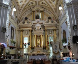 Interior Parroquia de San Nicolás de Bari San Nicolás de los Ranchos Puebla