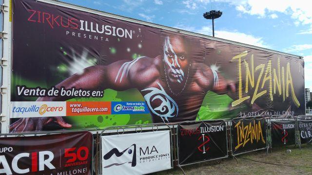 Inzania La Otra Cara del Circo Puebla