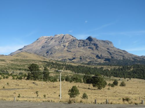 El Volcán Iztaccíhuatl Puebla