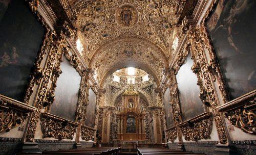 La Casa de Oro o Capilla del Rosario Puebla