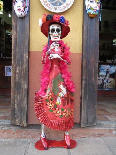 La Catrina Tlalpujahua Michoacán