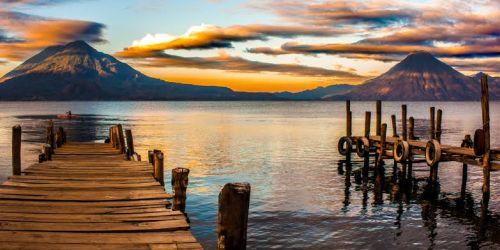 Lago de Atitlán Entre Panajachel y Santa Catarina Palopó