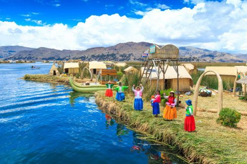 Titicaca Lake The Highest Lake in the World