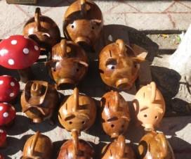 Las Bellas Alcancías de Cochinito de Tequisquiapan