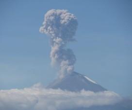 Las Fumarolas del Volcán Popocatépetl