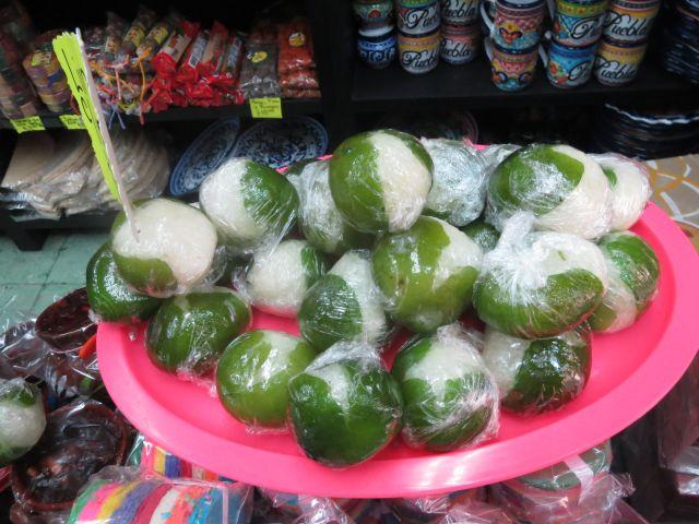 Limón Relleno de Coco Dulces Típicos de Puebla