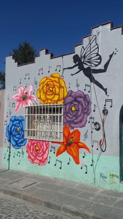 Los Murales Del Barrio De Xanenetla El Rincon De Edy